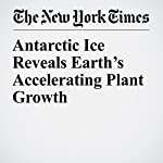 Antarctic Ice Reveals Earth's Accelerating Plant Growth | Carl Zimmer