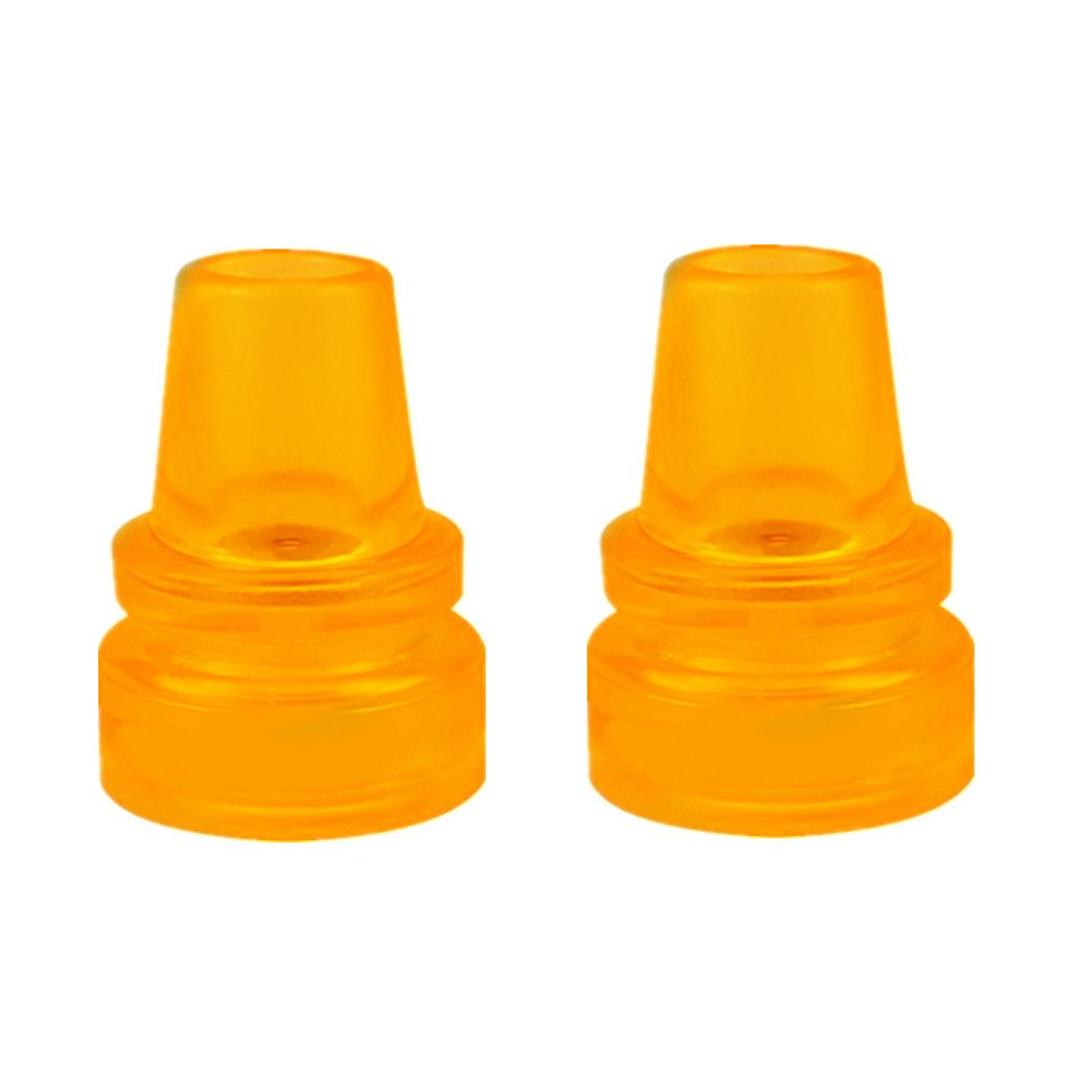 Crutch Tips Anti-skid and Wear-resisting,High Performance Rubber Walking Sticks Accessories Large,7/8 Inch (22 mm),Yellow