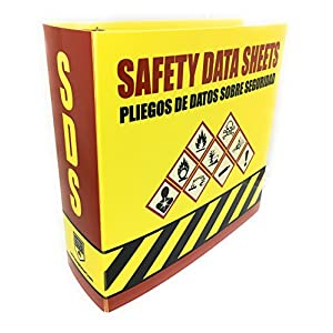 SDS Ring Binder, Bilingual with English/Spanish - front