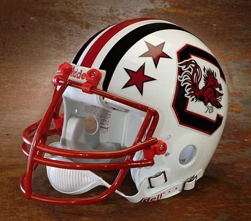 Amazon.com : OnField Productions 1980 South Carolina Gamecocks George  Rogers Riddell Football Helmet/Red Dot Facemask : Sports & Outdoors
