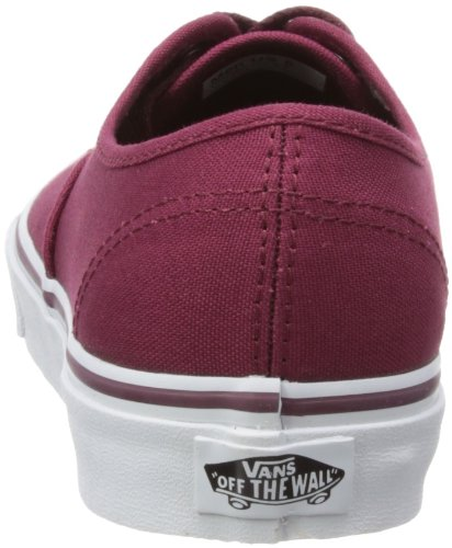 Vans Unisex Authentiek (vrij) Skateschoen Bordeaux