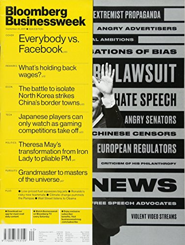 Businessweek Global Edition [US] Sp25 - Oc1 2017 (単号)