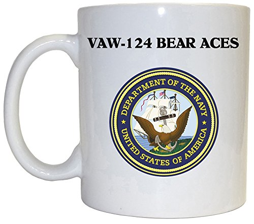 (VAW-124 Bear Aces - US Navy Mug, 1025)