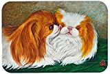Caroline's Treasures MH1045LCB Japanese Chin Best Friends Glass Cutting Board, Large, Multicolor