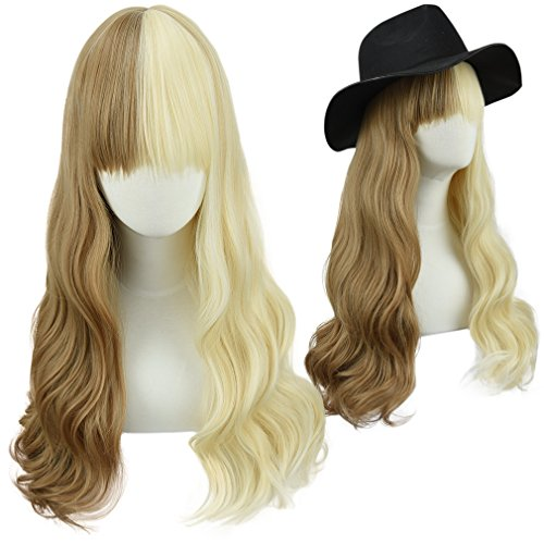 SEIKEA Synthetic Long Hair for Women Cosplay Wavy