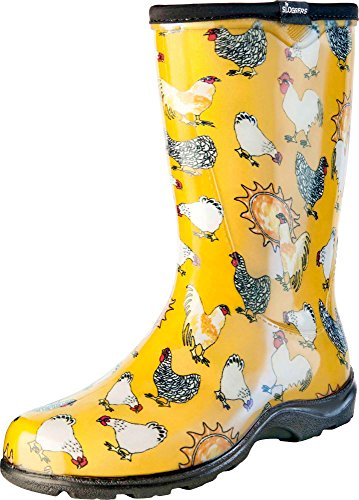 Sloggers Women's Waterproof Rain and Garden Boot with Comfor