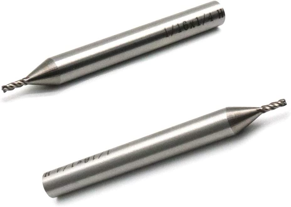 Micrograin Solid Carbide End Mill Ball Nose TiAlN Coated 4 Flute-Slot Drill CNC