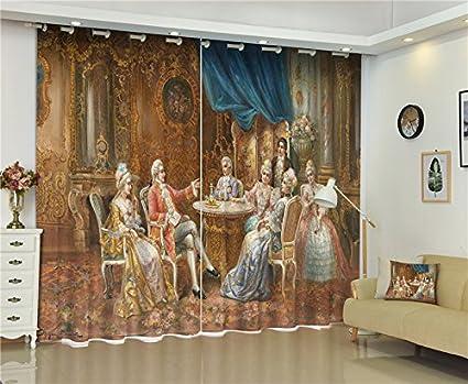 Amazon Com Sproud Blackout Window Curtain British Royal Family 3d
