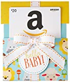 Amazon.ca $20 Gift Card in a Hello Baby Reveal (Classic White Card Design)