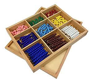 Montessori Checker Board Beads (with Box)