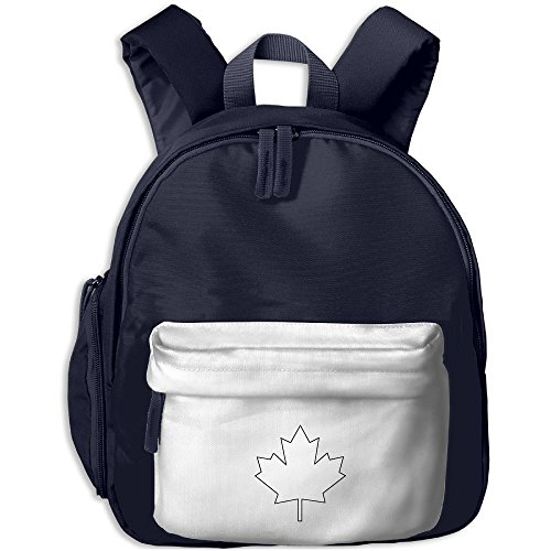 Cute Kids Backpack Canada Maple Leaf Lovely Satchel Mini Sidekick Backpack Best For Preschool