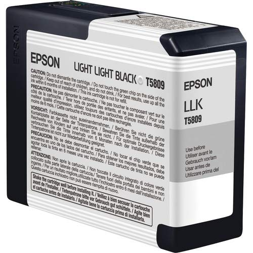 Light 3800 Pro (LIGHT LIGHT BLACK ULTRACHROME INK CARTRIDGE 80 ML - STYLUS PRO 3800 (T580900) -)