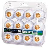 LinksWalker NCAA Clemson Tigers - Dozen Golf Balls