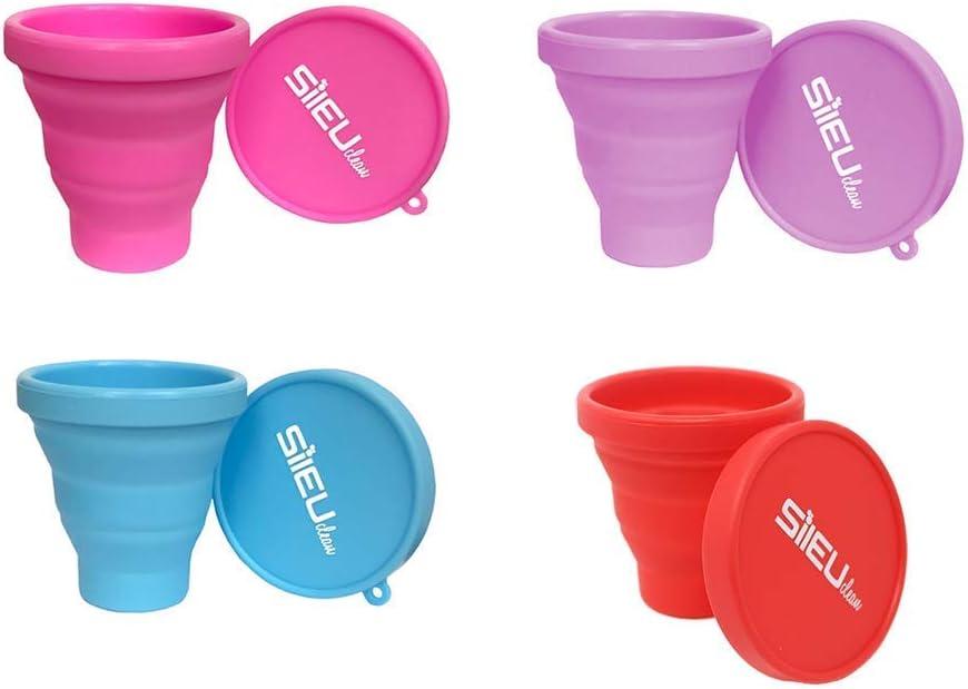 Copa Menstrual Sileu Cup Soft - Vejigas sensibles calambres cólicos menstruales - Ayuda a prevenir cistitis - La más vendida en farmacias - Talla S + ...