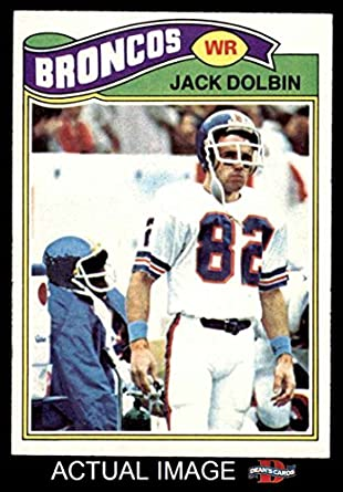 Amazon.com: 1977 Topps # 113 Jack Dolbin Denver Broncos (Football ...