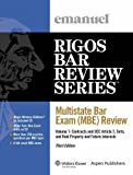 img - for Multistate Bar Exam (MBE) Review Volume 1 2009 Edition book / textbook / text book