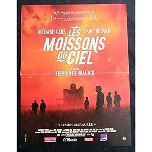 Días de Heaven Francés Póster de la película (15x 21–r1999–Terence Malick, Richard Gere