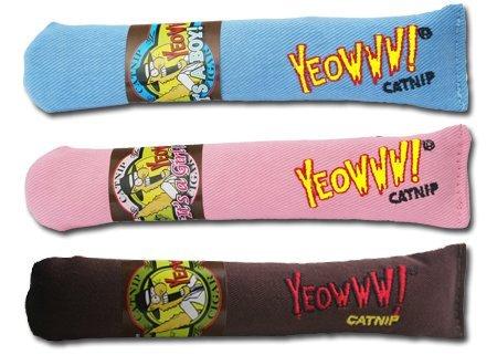 Cigar 3 Pack: Yeowww! 100% Organic Catnip Cigar Toys