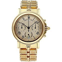 Breguet Marine Mechanical (Automatic) Silver Dial Mens Watch 3460BA/12/A90 (Certified Pre-Owned)