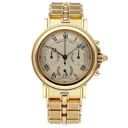 - Breguet Marine Mechanical (Automatic) Silver Dial Mens Watch 3460BA/12/A90 (Certified Pre-Owned)