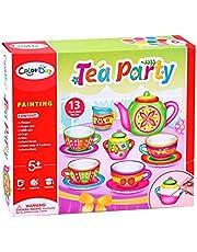JADE DIY Paint a Cup Tea Party Set - Craft Kit for Boys/ Girls