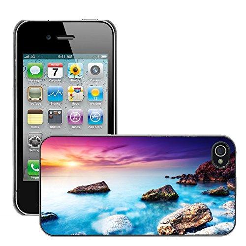 Premio Sottile Slim Cassa Custodia Case Cover Shell // V00002105 Mer // Apple iPhone 4 4S 4G