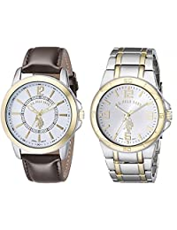 U.S. Polo Assn. Classic Men's USC2254 Set of Two Two-Tone Watches
