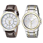 U.S. Polo Assn. Classic Men's Set of Two Two-Tone Watches USC2254