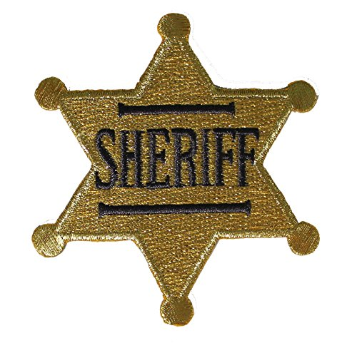Where to find sheriff badge iron on?