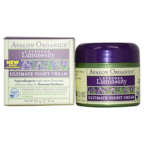 Avalon Organics Brilliant Balance Ultimate Night Cream, 2 Ounce