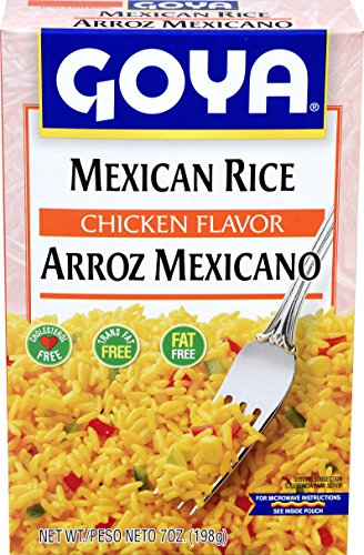 Goya Foods Mexican Rice Mix, 8-Ounce (Pack of 24) (Best Mexican Rice Mix)