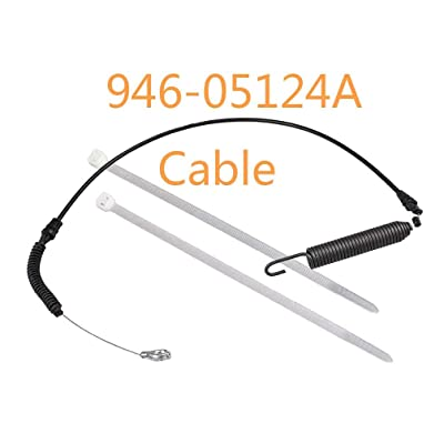 Genuine MTD 946-05124A Deck Engage Cable Fits Craftsman Huskee Troy Bilt Murray