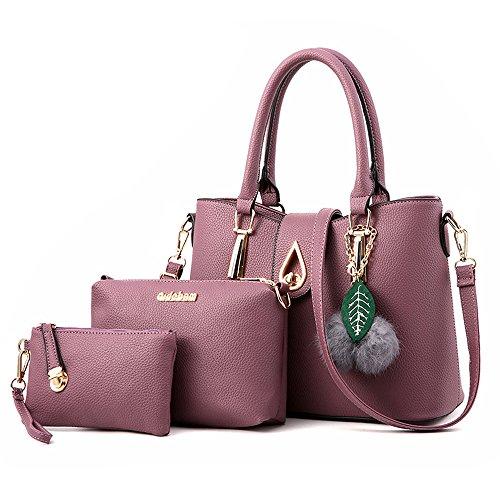 Purple Hobo Handbag - 8