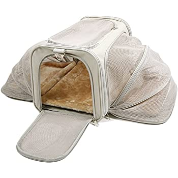 Amazon Com Jet Sitter Expandable Pet Dog Cat Carrier