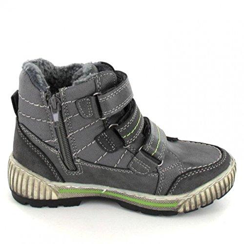 BM Footwear Klettstiefel, Farbe: Grau
