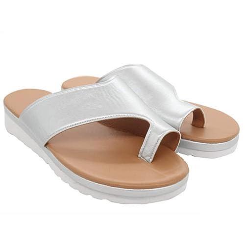 Sandale De Pour D'hallux Orteil Chaussures Traitement Femmes Le Plate Forme Valgus Gros Soutien L4ARj5