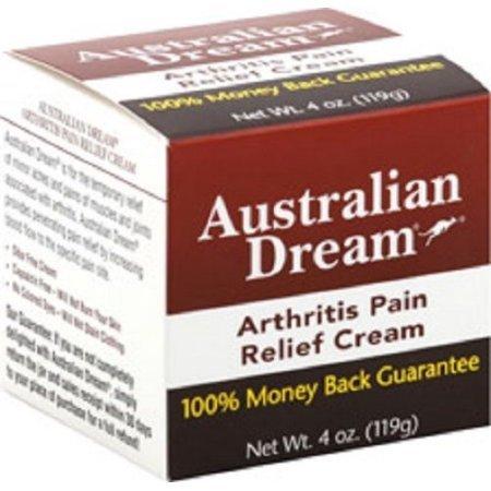 Australian Dream Arthritis Pain Relief Cream - 4oz, Pack of 2