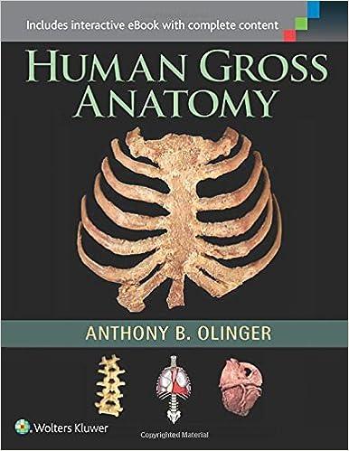 Human Gross Anatomy: 9781451187403: Medicine & Health Science Books ...