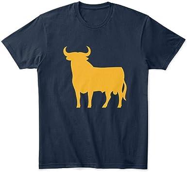 Curry-TS Hombres El Toro de Osborne Osborne Bull Premium Camisetas Cotton Funny Printed Xmas Gift Camisetas: Amazon.es: Ropa y accesorios