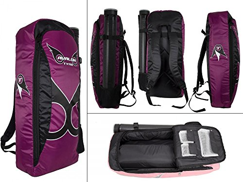Rucksack f. Bogensport, Recurvebogen Tasche Avalon Tyro 70x30x13 purple