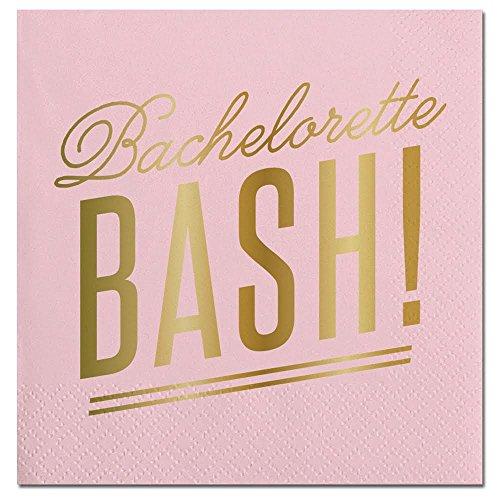 Pink Bachelorette Bash Cocktail Party Napkins - 20 Count ()