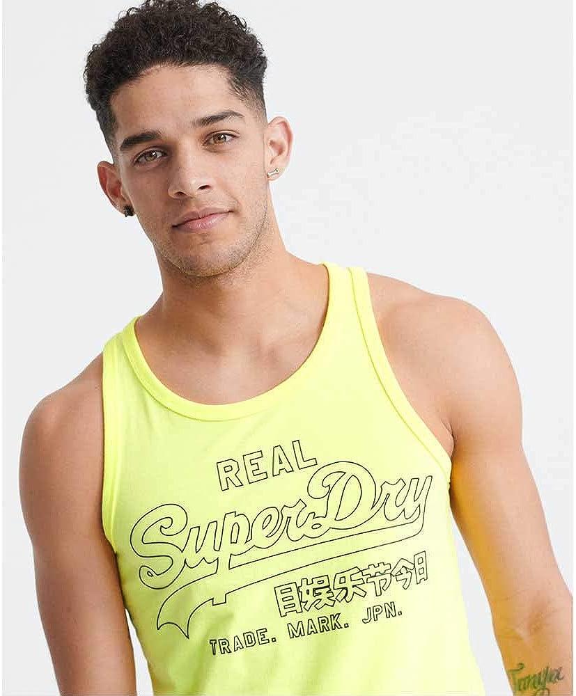 Superdry VL Outline Pop Vest D/ébardeur Homme