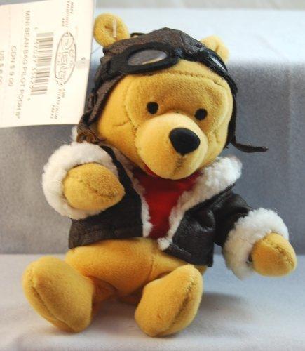 Bear Aviator (Disney - Winnie the Pooh Pilot Bean Bag Toy 8