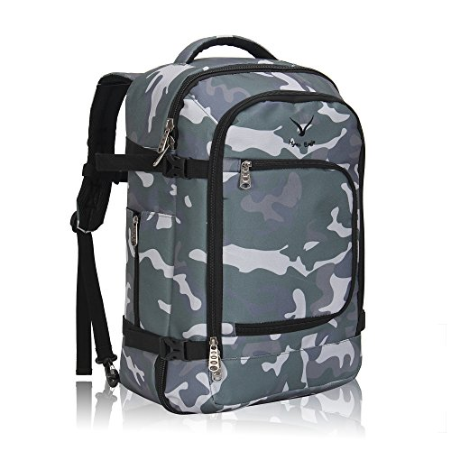 Hynes Eagle 40L Flight Approved Carry on Backpack (Camo)