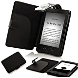 """Forefront Cases Kindle 4 September 2012 (Non Touch Screen) Case Cover with LED NIGHT READING LIGHT For Amazon Kindle 4 / Wi-Fi 6"""" / September 2012 / Kindle 4 WiFi"""