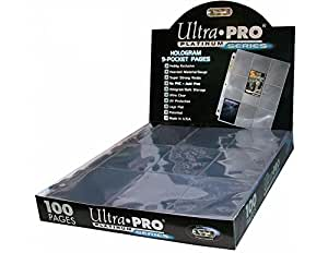 Ultra Pro 9-Pocket Trading Card Pages - Platinum Series (100 Pages)