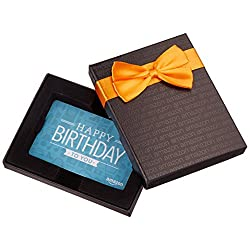 Gift Card in a Black Gift Box Congratulations Design) link image