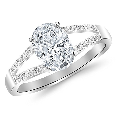 0.45 Ct Oval Diamond - 9