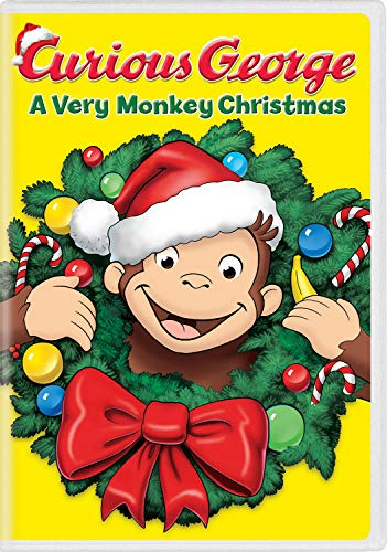 Curious George: A Very Monkey Christmas (Curious Song Christmas Monkey George)