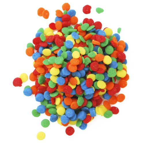 CK Products Bright Primary Colors Edible Confetti Sequins - 8 ()